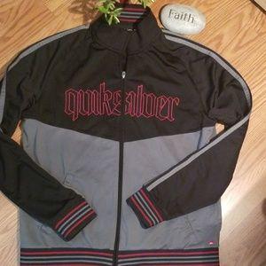Quicksilver zip up jacket lg